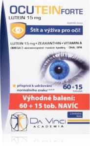 Da Vinci Academia Ocutein Da Vinci FORTE Lutein 15mg doplněk stravy pro podporu zdravého zraku