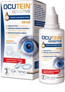 Da Vinci Academia Ocutein Da Vinci SENSITIVE roztok na kontaktní čočky roztok pro celodenní pohodlí při nošení kontaktních čoček