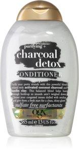 OGX Charcoal Detox regenerator za čišćenje za oslabljenu kosu