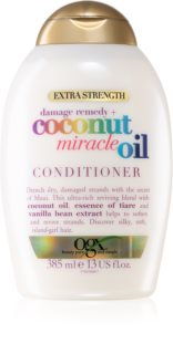 OGX Coconut Miracle Oil kondicioner na posilnenie vlasov s kokosovým olejom