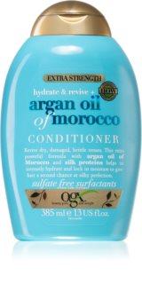OGX Argan Oil Of Morocco Extra Strenght balsam pentru regenerare pentru par deteriorat