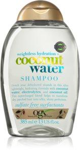 OGX Coconut Water leichtes feuchtigkeitsspendendes Shampoo für trockenes Haar