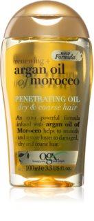 OGX Argan Oil Of Morocco vyživujúci olej pre suché a nepoddajné vlasy