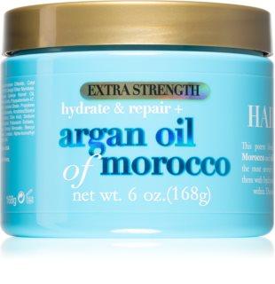 OGX Argan Oil Of Morocco Extra Strenght Intensive erneuernde Maske für beschädigtes Haar