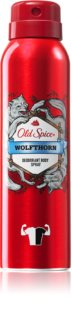 Old Spice Wolfthorn Deodorant Spray  voor Mannen