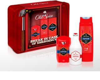 Old Spice Captain Metal Tin Gift Set  voor Mannen