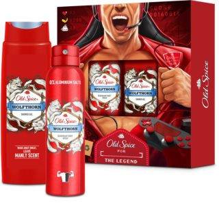 Old Spice Wolfthorn Lahjasetti I. Miehille
