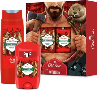 Old Spice Bearglove Geschenkset II. für Herren
