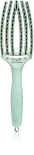Olivia Garden Fingerbrush Nano Ionic cepillo llano para cabello
