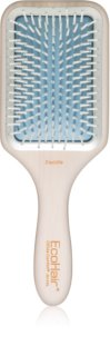 Olivia Garden EcoHair Flat Brush For Easy Combing