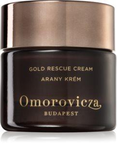 Omorovicza Gold Rescue Cream megújító krém a bőr öregedése ellen száraz és érzékeny bőrre