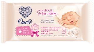 Onclé Baby vlažni čistilni robčki za otroke od rojstva