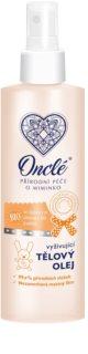 Onclé Baby vyživující tělový olej pro děti od narození