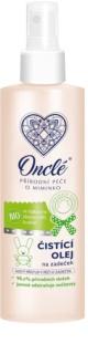 Onclé Baby dětský čisticí olej na zadeček