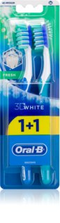 Oral B 3D White Fresh Keskikokoiset Hammasharjat