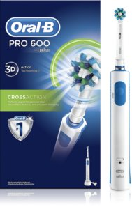Oral B Pro 600 D16.513 CrossAction brosse à dents électrique