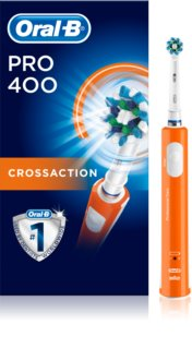 Oral B Pro 400 D16.513 CrossAction Orange brosse à dents électrique