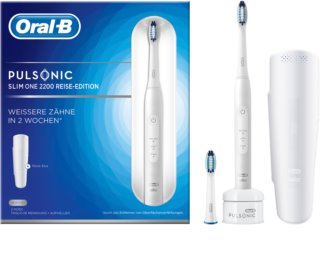 Oral B Pulsonic Slim One 2200 White Sonic Toothbrush