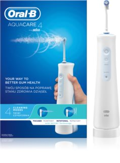 Oral B Aquacare 4 jet dentaire