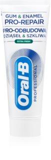 Oral B Professional Gum & Enamel Pro-Repair Extra Fresh osvěžující zubní pasta pro zdravé zuby a dásně