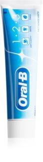 Oral B 1-2-3 Salt Power White bleichende Zahnpasta zur Komplettpflege