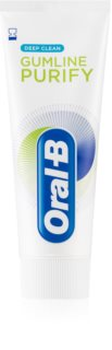Oral B Gumline Purify Deep Clean dentifrice pour des dents et gencives saines
