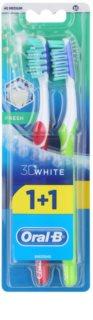 Oral B 3D White Fresh szczoteczki do zębów medium