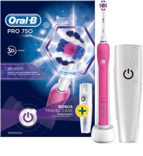 Oral B Pro 750 D16.513.UX 3D White električna zobna ščetka
