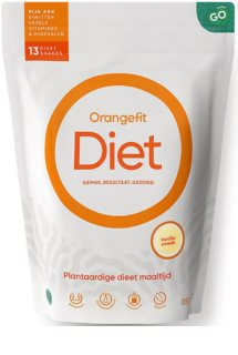 Orangefit Diet rostlinná náhrada stravy příchuť  vanilla