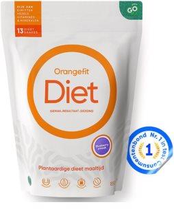 Orangefit Diet rostlinná náhrada stravy příchuť  blueberry