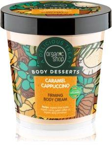 Organic Shop Body Desserts Caramel Cappuccino συσφικτική κρέμα για το σώμα