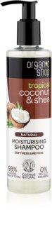 Organic Shop Natural Coconut & Shea Moisturizing Shampoo for Dry and Damaged Hair