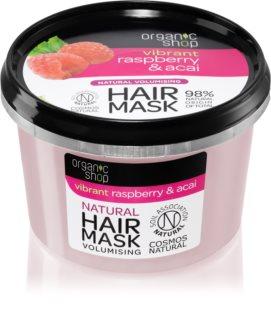 Organic Shop Vibrant Raspberry & Acai  подхранваща маска за коса