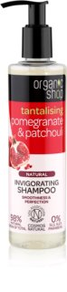 Organic Shop Natural Pomegranate & Patchouli champú refrescante con efecto humectante