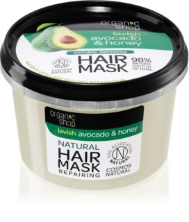 Organic Shop Natural Avocado & Honey masque cheveux régénérant