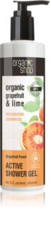 Organic Shop Organic Grapefruit & Lime Active Shower Gel
