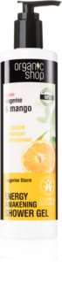 Organic Shop Organic Tangerine & Mango poživitveni gel za prhanje