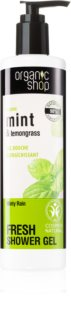 Organic Shop Organic Mint & Lemongrass gel de ducha refrescante