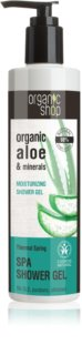 Organic Shop Organic Aloe & Minerals Harmonizing Shower Gel