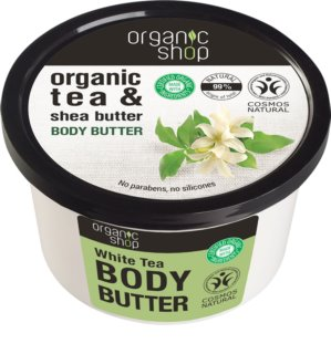 Organic Shop Organic Tea & Shea Butter intensief hydraterende body-butter