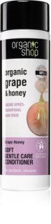 Organic Shop Organic Grape & Honey condicionador suave