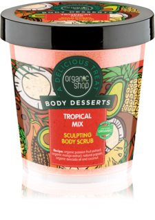 Organic Shop Body Desserts Tropical Mix exfoliant corporal pentru slăbire