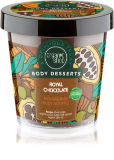 Organic Shop Body Desserts Royal Chocolate soufflé corpo nutriente