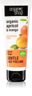 Organic Shop Organic Apricot & Mango jemný pleťový peeling