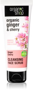 Organic Shop Organic Ginger & Cherry exfoliant purifiant visage