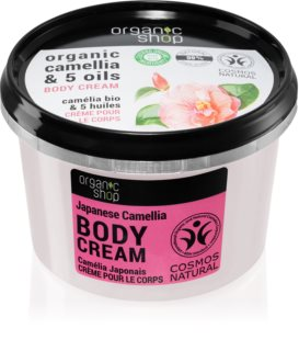 Organic Shop Organic Camellia & 5 Oils Caring Body Cream
