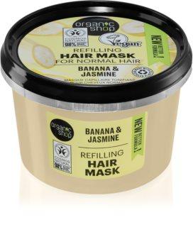 Organic Shop Organic Jasmine & Jojoba haj maszk dús hatásért