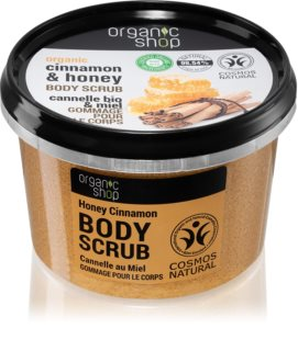Organic Shop Organic Cinnamon & Honey scrub delicato corpo