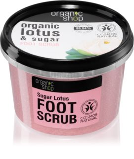 Organic Shop Organic Lotus & Sugar Sugar Scrub for Legs