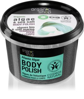 Organic Shop Organic Algae & Sea Salt scrub corpo